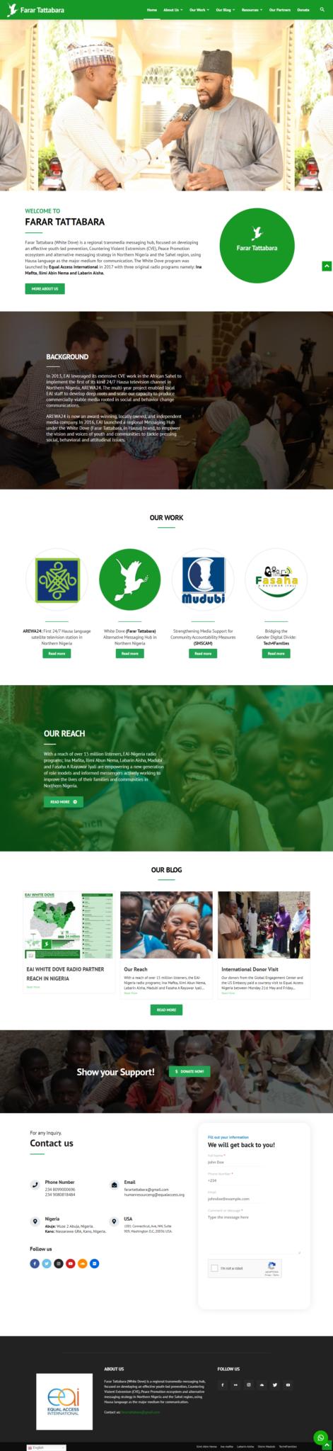 farar tattabara website