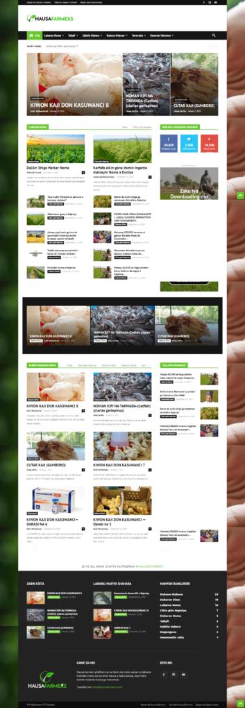 hausa farmers website