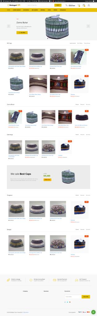 maiduguri caps website