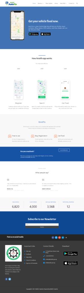 naddcauto fix website