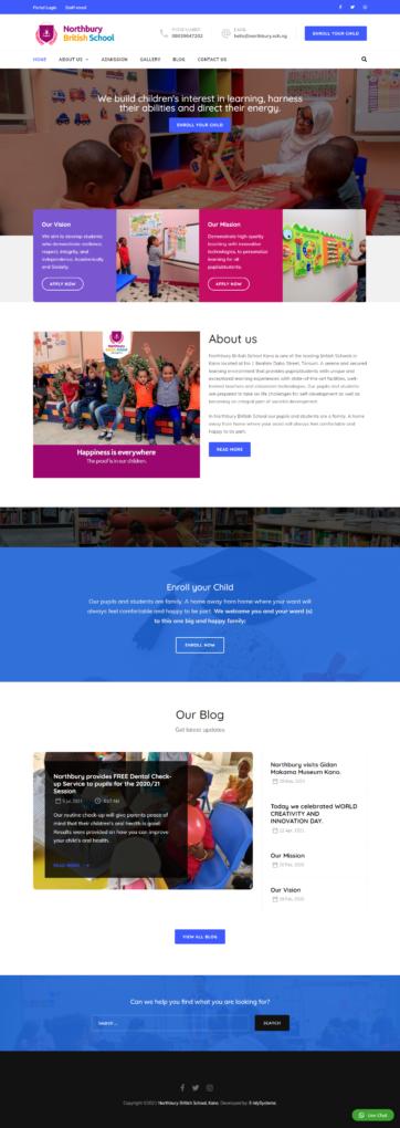 northbury website