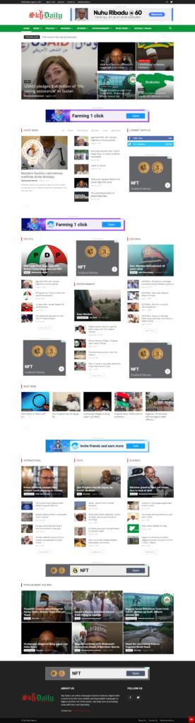 skydaily website